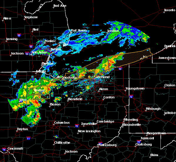 Radar Image for Severe Thunderstorms near Attica, OH at 6/12/2015 2:28 PM EDT