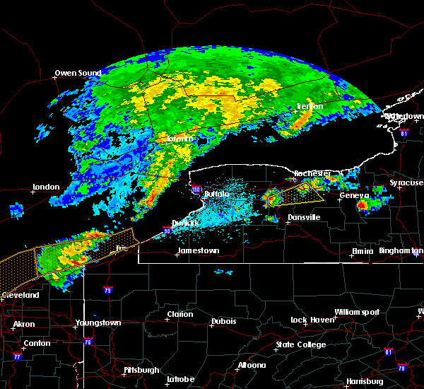 Radar Image for Severe Thunderstorms near Fairport, NY at 6/12/2015 2:55 PM EDT