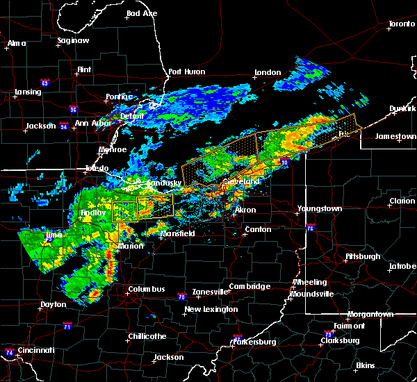 Radar Image for Severe Thunderstorms near Green Springs, OH at 6/12/2015 2:58 PM EDT