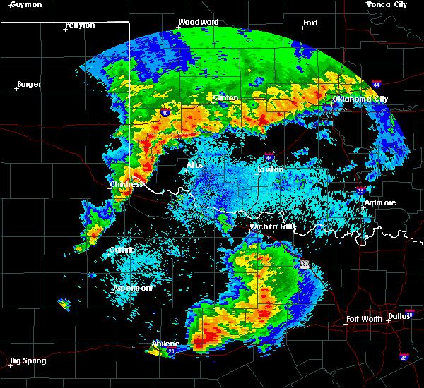 Radar Image for Severe Thunderstorms near Paducah, TX at 5/8/2019 2:26 AM CDT