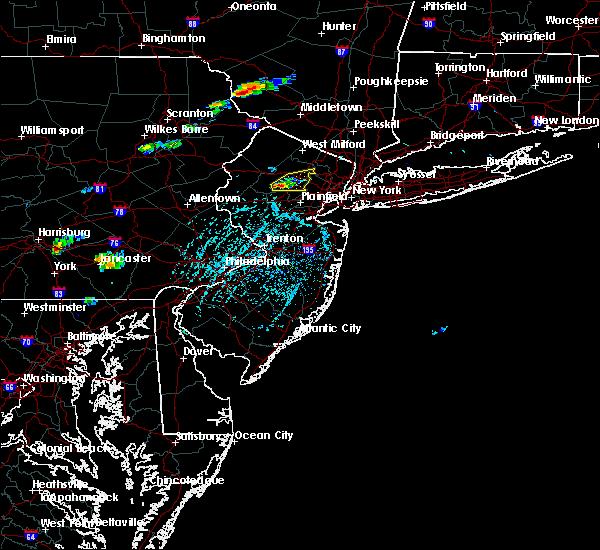 Radar Image for Severe Thunderstorms near Dover, NJ at 6/12/2015 3:16 PM EDT