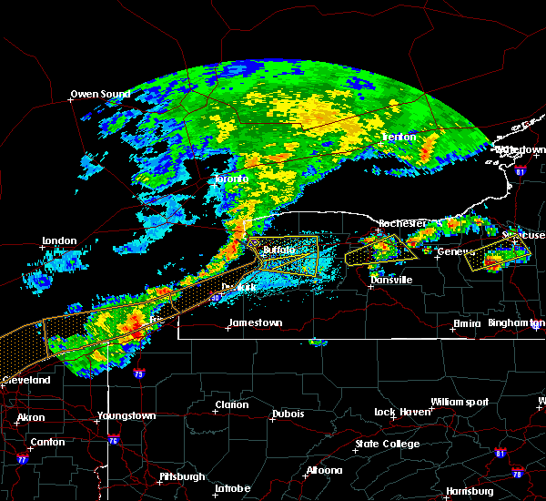 Radar Image for Severe Thunderstorms near Fairport, NY at 6/12/2015 3:25 PM EDT