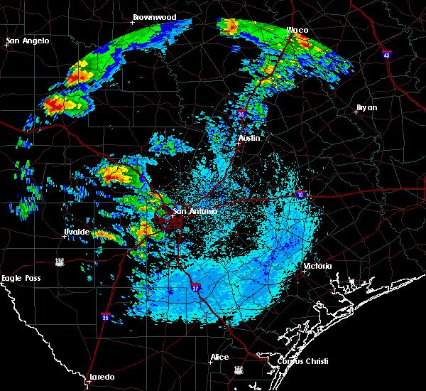 Radar Image for Severe Thunderstorms near Boerne, TX at 5/8/2019 6:36 AM CDT