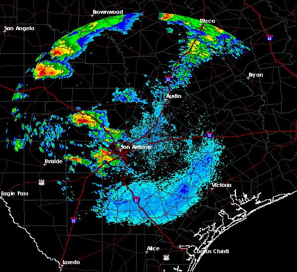 Radar Image for Severe Thunderstorms near Boerne, TX at 5/8/2019 6:48 AM CDT
