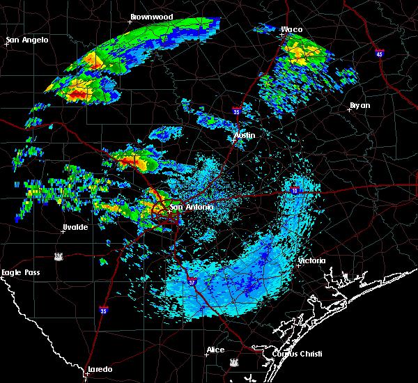 Radar Image for Severe Thunderstorms near Kerrville, TX at 5/8/2019 7:17 AM CDT