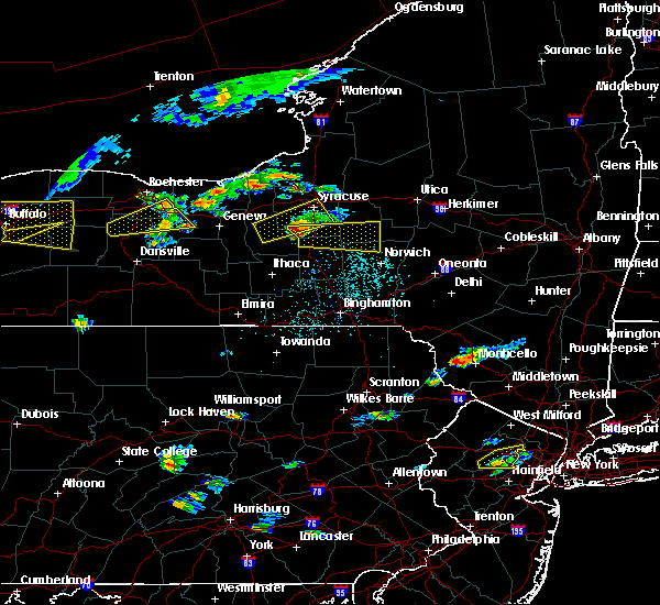 Radar Image for Severe Thunderstorms near Fabius, NY at 6/12/2015 3:28 PM EDT
