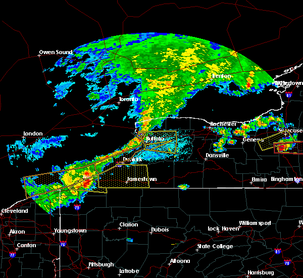 Radar Image for Severe Thunderstorms near Ripley, NY at 6/12/2015 3:34 PM EDT