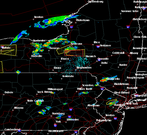 Radar Image for Severe Thunderstorms near Fabius, NY at 6/12/2015 3:35 PM EDT