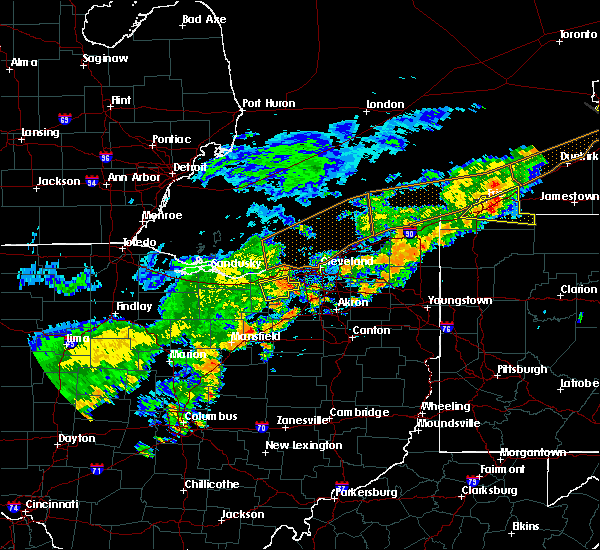 Radar Image for Severe Thunderstorms near Strongsville, OH at 6/12/2015 3:35 PM EDT