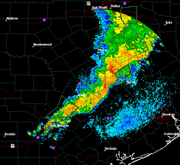 Radar Image for Severe Thunderstorms near Franklin, TX at 5/8/2019 1:32 PM CDT