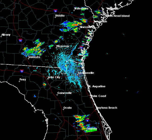 Radar Image for Severe Thunderstorms near Silver Springs Shores, FL at 6/12/2015 3:44 PM EDT