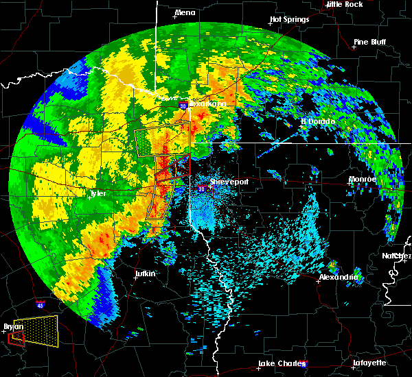 Radar Image for Severe Thunderstorms near Queen City, TX at 5/8/2019 2:47 PM CDT