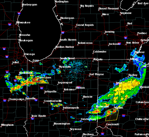Radar Image for Severe Thunderstorms near Monon, IN at 6/12/2015 3:47 PM EDT