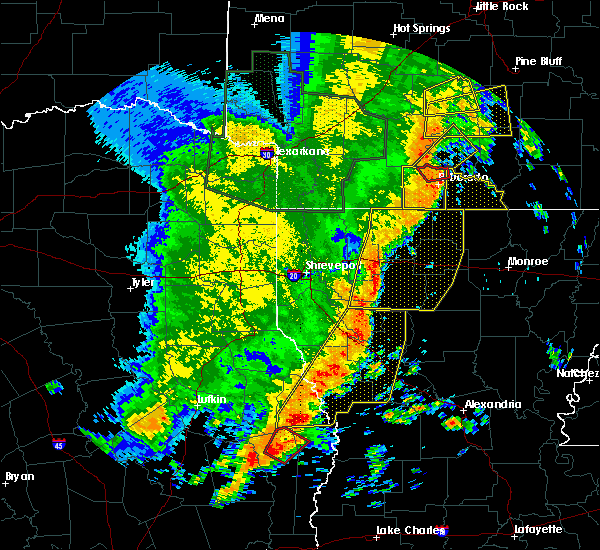 Radar Image for Severe Thunderstorms near Strong, AR at 5/8/2019 5:06 PM CDT