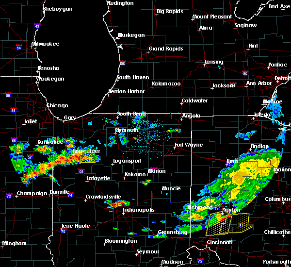 Radar Image for Severe Thunderstorms near Monon, IN at 6/12/2015 3:59 PM EDT
