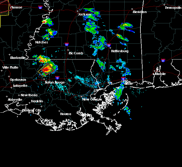 Radar Image for Severe Thunderstorms near Central, LA at 5/8/2019 6:05 PM CDT