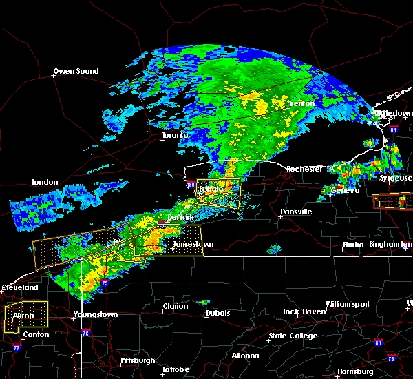 Radar Image for Severe Thunderstorms near Pavilion, NY at 6/12/2015 4:07 PM EDT