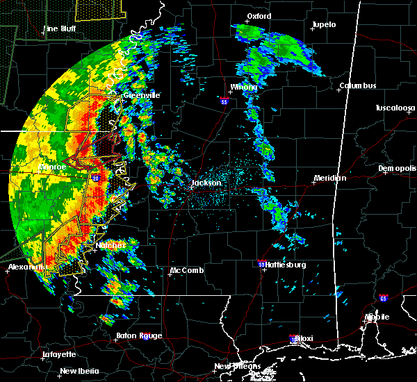Radar Image for Severe Thunderstorms near Beechwood, MS at 5/8/2019 7:33 PM CDT
