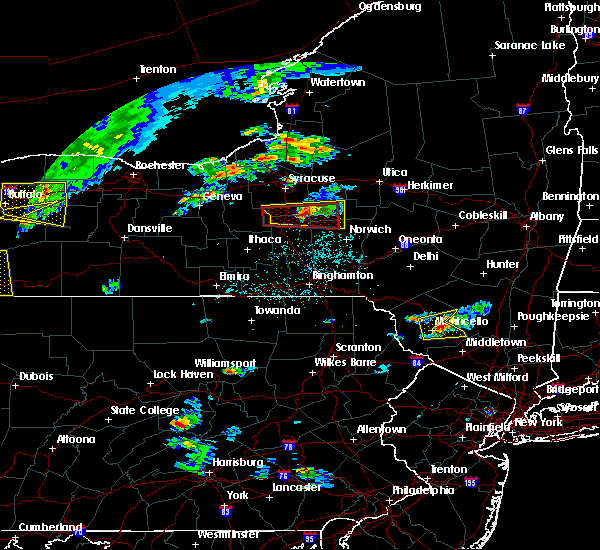 Radar Image for Severe Thunderstorms near Morrisville, NY at 6/12/2015 4:13 PM EDT