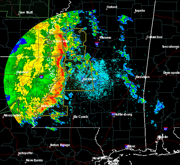 Radar Image for Severe Thunderstorms near Beechwood, MS at 5/8/2019 8:24 PM CDT