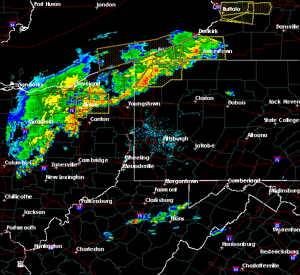 Radar Image for Severe Thunderstorms near Meadville, PA at 6/12/2015 4:13 PM EDT