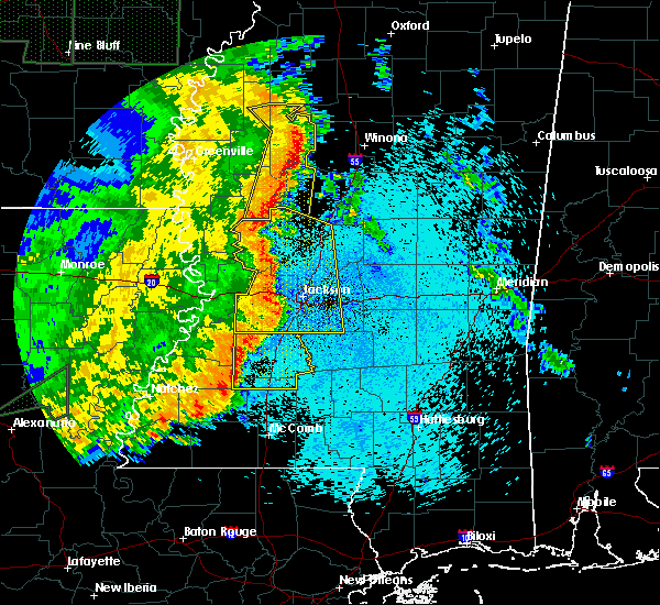 Radar Image for Severe Thunderstorms near Schlater, MS at 5/8/2019 9:02 PM CDT