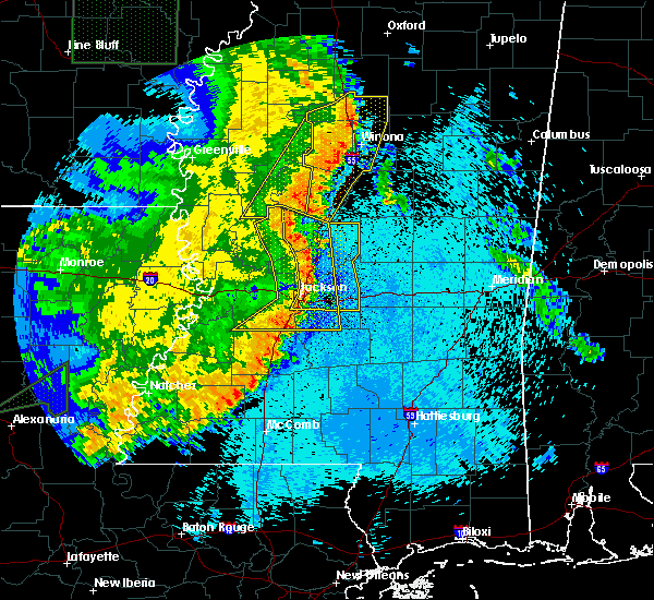 Radar Image for Severe Thunderstorms near Flowood, MS at 5/8/2019 9:31 PM CDT