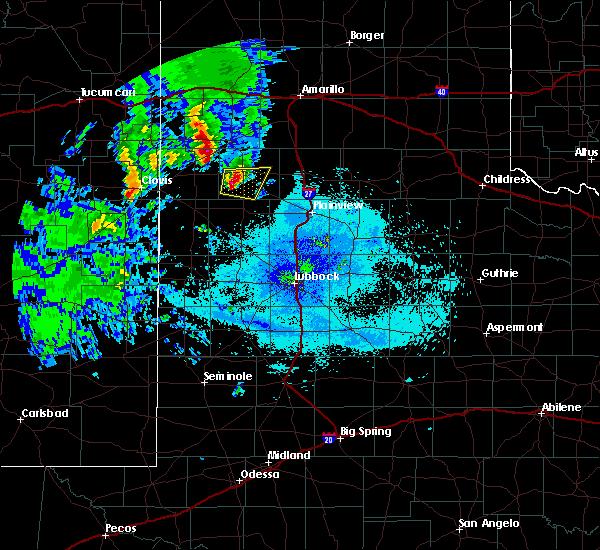 Radar Image for Severe Thunderstorms near Dimmitt, TX at 5/8/2019 9:50 PM CDT