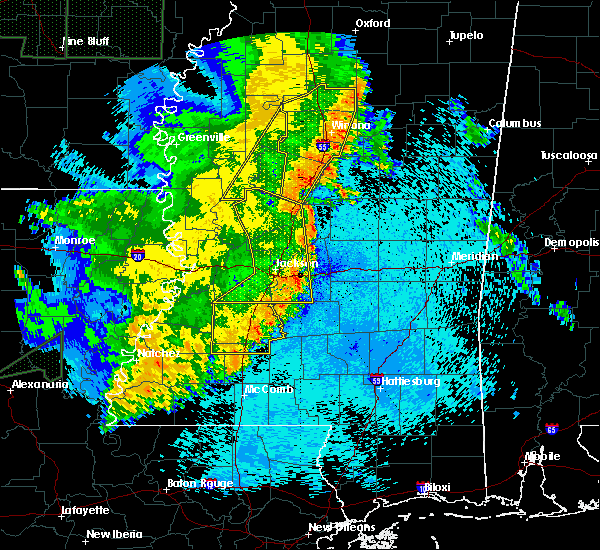 Radar Image for Severe Thunderstorms near Flowood, MS at 5/8/2019 9:54 PM CDT