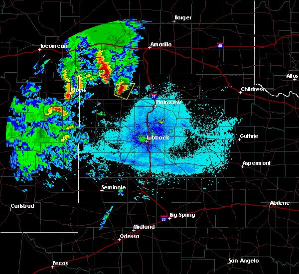 Radar Image for Severe Thunderstorms near Dimmitt, TX at 5/8/2019 9:58 PM CDT