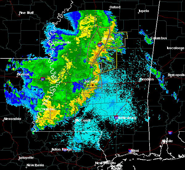 Radar Image for Severe Thunderstorms near Flowood, MS at 5/8/2019 10:02 PM CDT