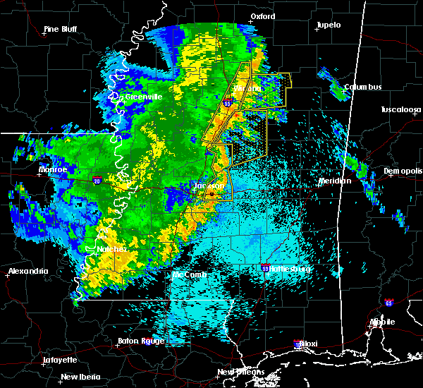 Radar Image for Severe Thunderstorms near Winona, MS at 5/8/2019 10:03 PM CDT