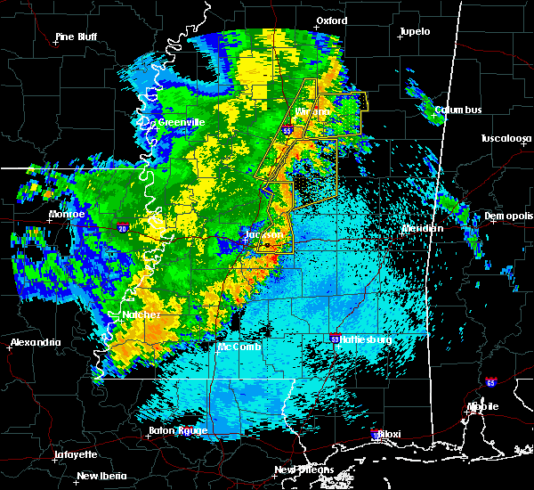 Radar Image for Severe Thunderstorms near Winona, MS at 5/8/2019 10:11 PM CDT