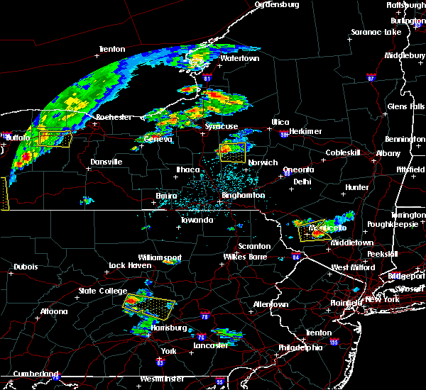 Radar Image for Severe Thunderstorms near Morrisville, NY at 6/12/2015 4:18 PM EDT