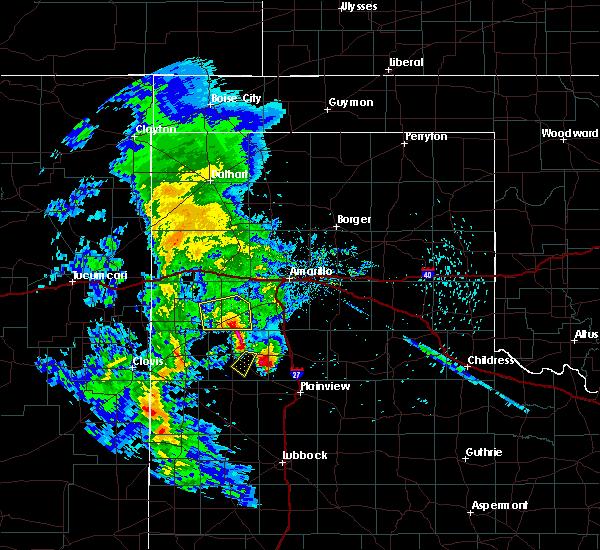 Radar Image for Severe Thunderstorms near Dimmitt, TX at 5/8/2019 10:43 PM CDT
