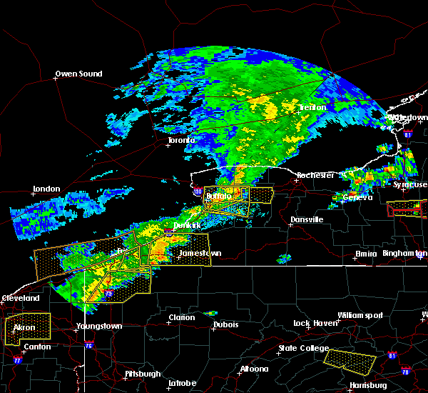Radar Image for Severe Thunderstorms near Livonia, NY at 6/12/2015 4:18 PM EDT