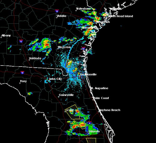 Radar Image for Severe Thunderstorms near Homeland, GA at 6/12/2015 4:21 PM EDT