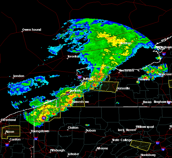 Radar Image for Severe Thunderstorms near Pavilion, NY at 6/12/2015 4:22 PM EDT