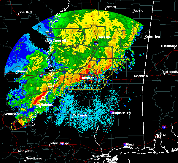 Radar Image for Severe Thunderstorms near Flowood, MS at 5/9/2019 8:52 AM CDT