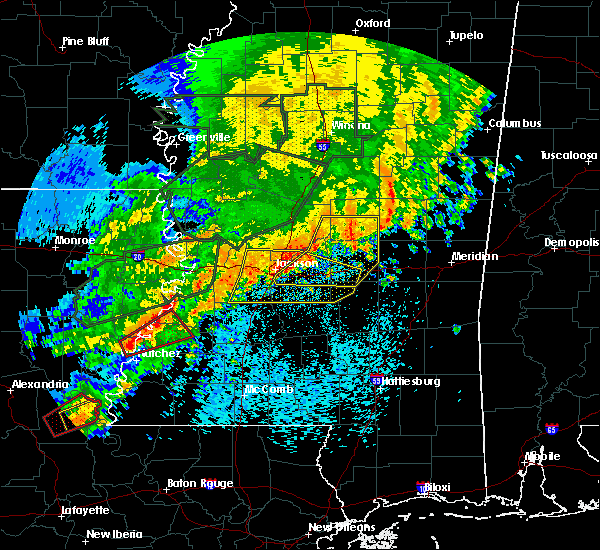 Radar Image for Severe Thunderstorms near Flowood, MS at 5/9/2019 9:07 AM CDT