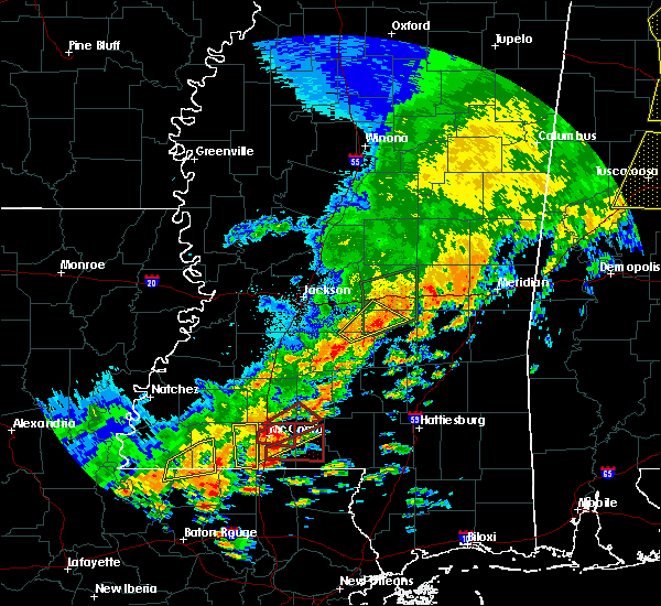 Radar Image for Severe Thunderstorms near Monticello, MS at 5/9/2019 11:35 AM CDT