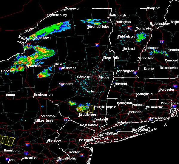 Radar Image for Severe Thunderstorms near Milton, NY at 6/12/2015 4:31 PM EDT