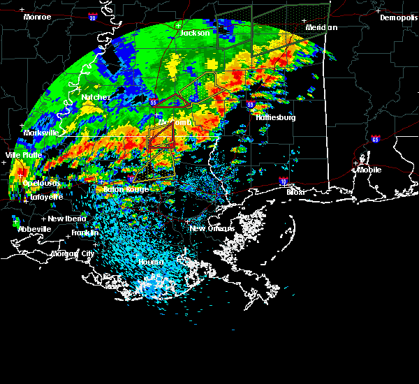 Radar Image for Severe Thunderstorms near Independence, LA at 5/9/2019 12:43 PM CDT