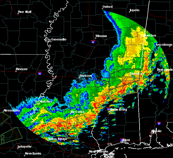 Radar Image for Severe Thunderstorms near Bay Springs, MS at 5/9/2019 12:45 PM CDT