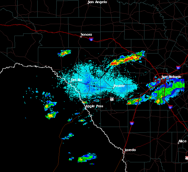 Radar Image for Severe Thunderstorms near Ingram, TX at 5/9/2019 12:45 PM CDT