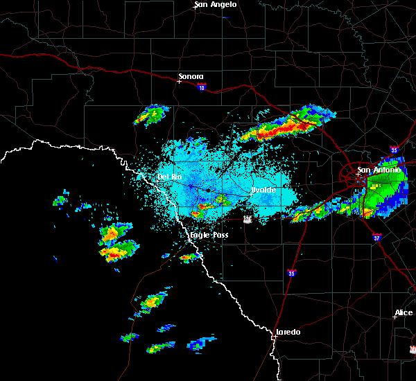 Radar Image for Severe Thunderstorms near Ingram, TX at 5/9/2019 1:17 PM CDT