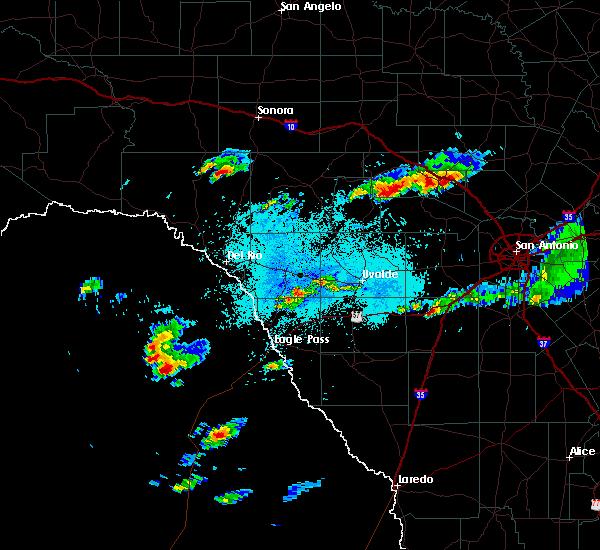 Radar Image for Severe Thunderstorms near Ingram, TX at 5/9/2019 1:22 PM CDT