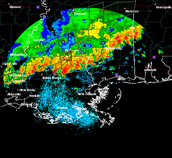 Radar Image for Severe Thunderstorms near Independence, LA at 5/9/2019 1:54 PM CDT
