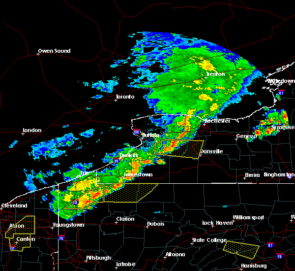 Radar Image for Severe Thunderstorms near Livonia, NY at 6/12/2015 4:35 PM EDT