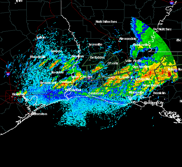 Radar Image for Severe Thunderstorms near Lake Charles, LA at 5/9/2019 4:15 PM CDT